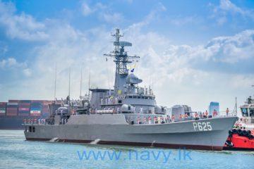 Sri Lanka Navy commissions former PLAN frigate