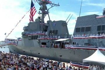 U.S. Navy Commissioned 67th Burke-class destroyer USS Paul Ignatius – DDG 117