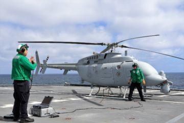 US Navy Declares IOC for MQ-8C Fire Scout VTOL UAV