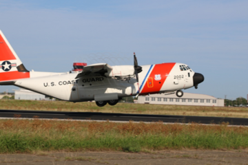 USCG receives 10th HC-130J outfitted with Minotaur software