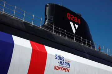 Video: French Navy's New Generation SSN 'Suffren' Launched by Naval Group