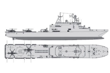 Yantar Shipyard Unveils Design of Improved Ivan Gren-class LST