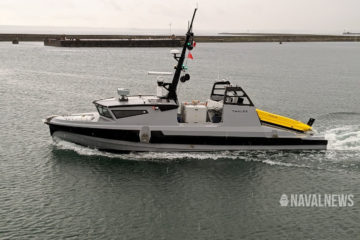 Video: French Navy's SLAMF Unmanned Mine Warfare System to be Qualified in December