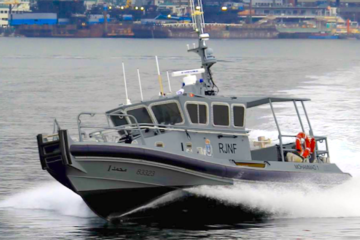 Royal Jordanian Navy receives additional Response Boat-Mediums from Fincantieri and Vigor