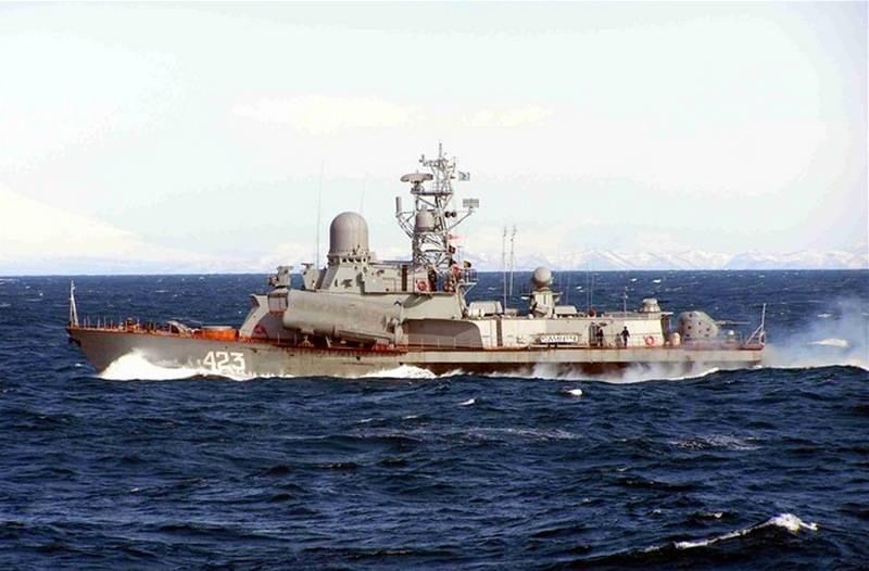 Russia's Nanuchka III-class Corvette 'Smerch' Upgraded with