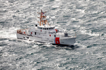 USCG Exercises Option for Four More Sentinel-class Fast Response Cutters