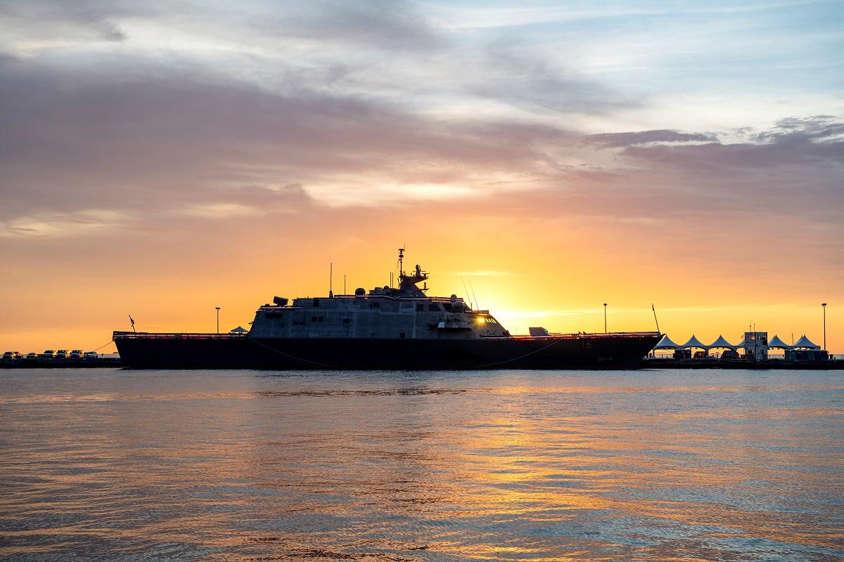U S  Navy Commissions 8th Freedom-class Littoral Combat Ship USS