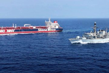 UK joins international maritime security mission in the Gulf