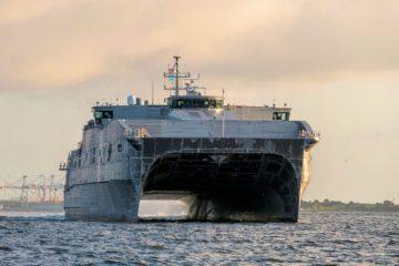 USNS Puerto Rico EPF 11 Completes Integrated Sea Trials
