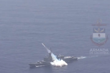 Video: Colombian Navy Conducts SINKEX with Torpedo & C-Star Missile