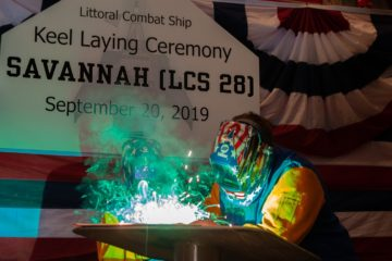 Austal Laid Keel of Future USS Savannah – 28th U.S. Navy Littoral Combat Ship