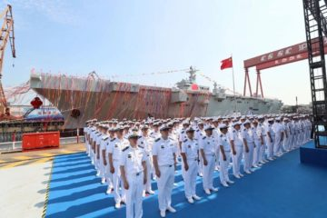 China Launches 1st Type 075 LHD for PLAN