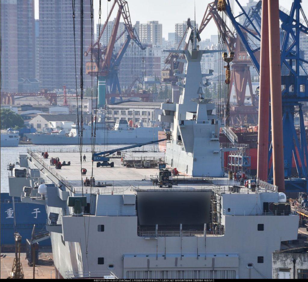 China launches first amphibious assault ship