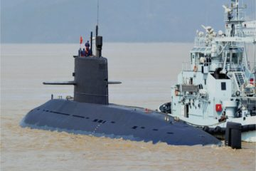 China's CSIC Lays Keel for Royal Thai Navy's First S26T Submarine