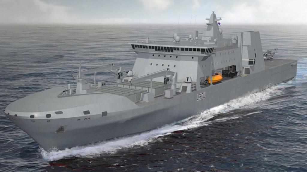 DSEI 2019: BMT Unveils ELLIDA Amphibious / Tanker / Multi-Role Auxiliary Vessel