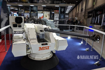 DSEI 2019: MSI Defence's SEAHAWK LW30M Naval Gun System Gets Launch Customer