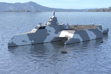 DSEI 2019: Steller Systems & Thales Unveil TX Ship Concept