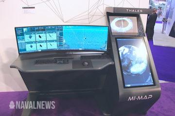 DSEI 2019: Thales discloses Mi-Map AI-assisted mine warfare solution