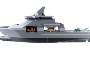 KONGSBERG unveils Vanguard – a game changer in naval operations