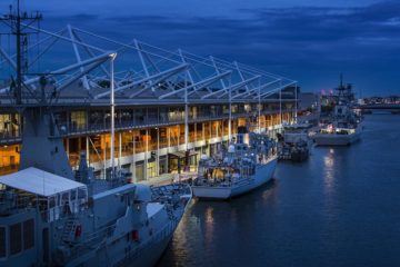 Naval Zone, Visiting Vessels & Waterborne Demos at DSEI 2019