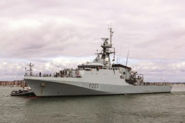 Royal Navy Commissioned Second Batch 2 River-class OPV HMS Medway