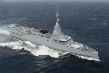 Naval Group Starts Construction of Amiral Ronarc'h – French Navy's 1st FDI Frigate