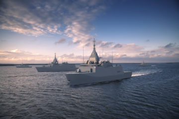 Saab's combat system officially selected for Finnish Navy Squadron 2020 Program