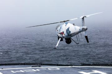 Schiebel Camcopter S-100 VTOL UAV Completes Trials with Finnish Coast Guard
