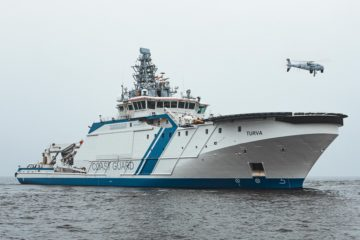 Schiebel Camcopter S-100 Supports Finnish, Estonian and Swedish Coast Guards