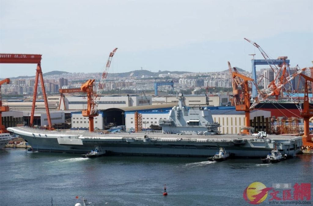 Type 002 China's 2nd Aircraft Carrier to be Commissioned by