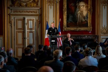 U.S. Navy Europe's Top Admiral Highlights French-American Alliance