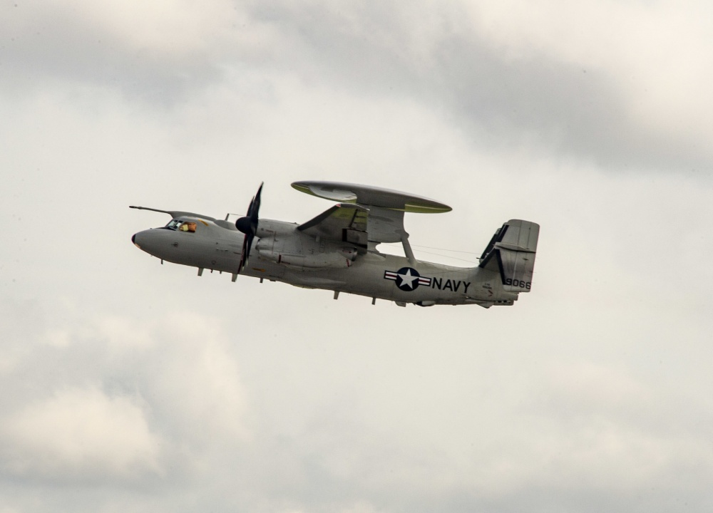 U S  Navy Starts Air Refueling Training with E 2D Advanced Hawkeye.