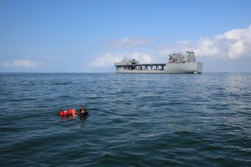 U.S. Navy Tests Mine Countermeasures from ESB-class Ship