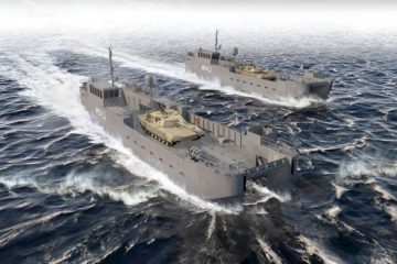 Vigor Laid Keel of U.S. Army Next Gen Landing Craft MSV(L)