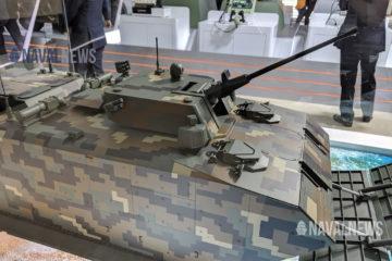 ADEX 2019: Hanwha Defense Unveils KAAV-II for ROK Marine Corps