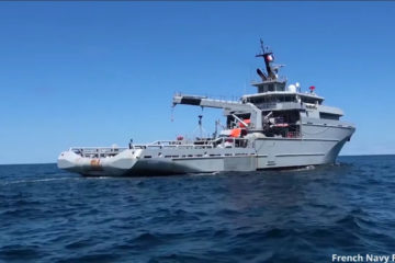 "Video: French Navy Offshore Support and Assistance Vessel ""Garonne"""
