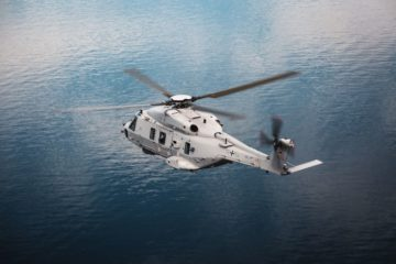 German Navy Accepts First NH90 Sea Lion Maritime Helicopter