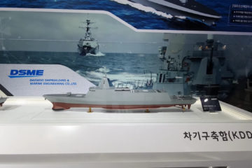 Video: Day 1 at MADEX 2019 – DSME, KSS III, LIG Nex1 USV, Poongsan