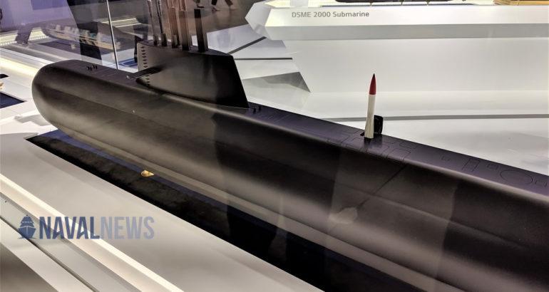 MADEX 2019 DSME On Track with KSS III Batch 2 Submarine Program for ROK Navy 1