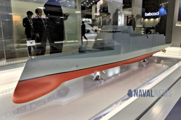 MADEX 2019: HHI Unveils KDDX Design Concept for ROK Navy Future DDG Requirement