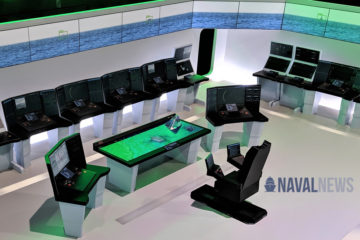 MADEX 2019: LIG Nex1 Proposes Futuristic CIC with Holograms for ROK Navy KDDX Destroyer