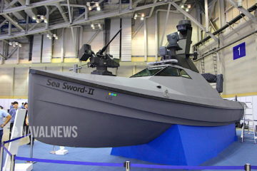 MADEX 2019: Sea Sword II combat USV unveiled by LIG Nex1