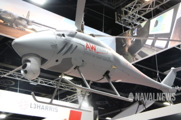 PACIFIC 2019: Leonardo pitching its AWHERO UAV in Australia