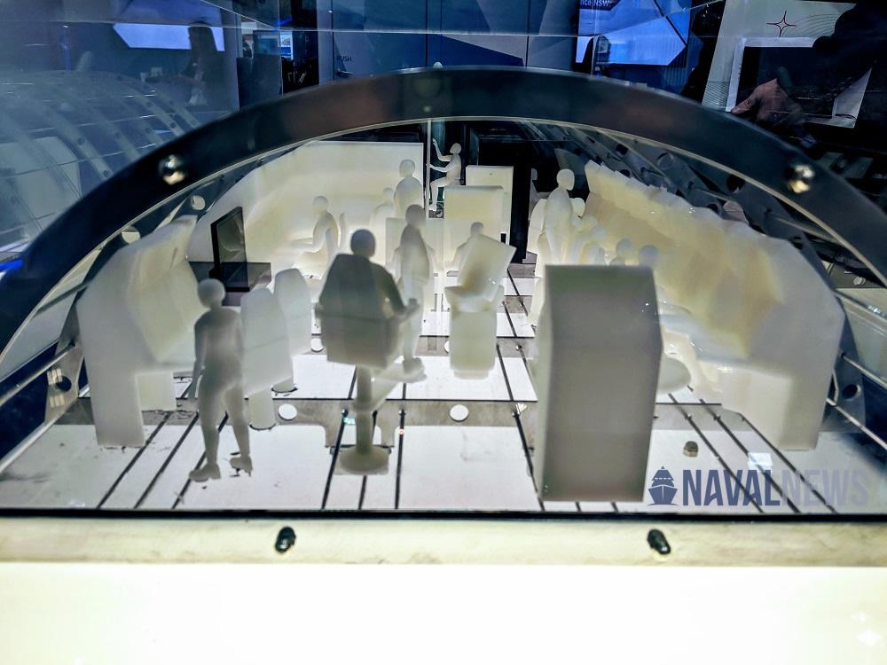 PACIFIC 2019 Lockheed Martin Showcased Conceptual Attack-class Submarine Control Room 1