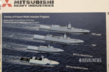 PACIFIC 2019: MHI Unveils OPV & DDG Designs Based on Future JMSDF Frigate