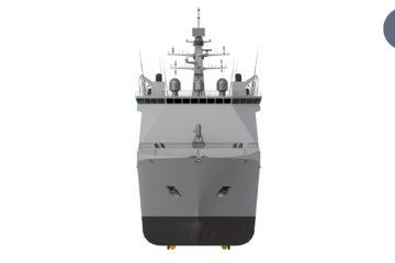 Video: Day 3 at PACIFIC 2019 – Navantia JSS, Submarine Cabin Concept, MTU Engine, Serco RSV Nuyina