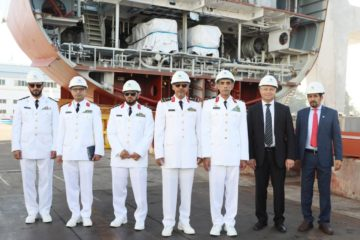 SAMINavantia Starts Construction of First RSNF Corvette in Cadiz