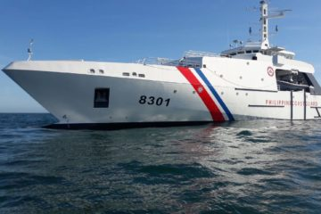 Successful first sea trials for Philippine Coast Guard OCEA OPV 270