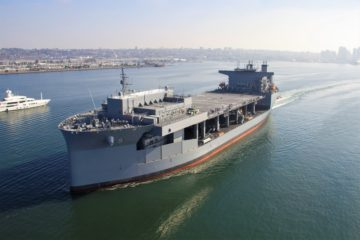 U.S. Navy Accepts Delivery of USNS Miguel Keith