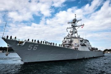 U.S. Navy Destroyer USS John S. McCain Starting Post-Repairs Sea Trials